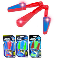 Flip Finz Stress Reliever Improve Focus Hand Training Anti Stress Gadgets Light Up Butterfly Flipper Flip