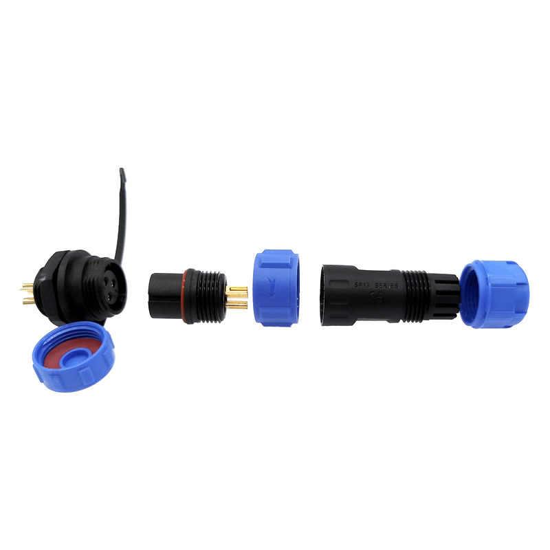 SP1310 SP1312 connecteur étanche SP13 2pin 3pin 4pin 5pin 6pin 7pin 9pin IP68 connecteurs fiche et prise