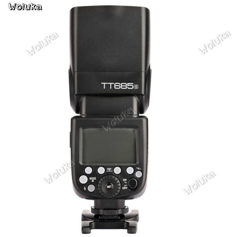 Godox TT685S DSLR A6300 A99 A58 6000L 2.4G HSS TTL GN60 מצלמה פלאש TT685O TT685N TT685F CD50 T03P