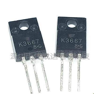 50 adet/grup K3667 2SK3667 TO-220F 600 V 7.5A yeni50 adet/grup K3667 2SK3667 TO-220F 600 V 7.5A yeni