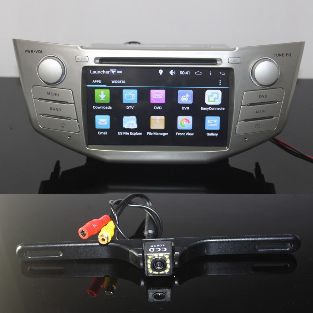 2 din car dvd player ure 6 0 android gps radio for lexus. Black Bedroom Furniture Sets. Home Design Ideas