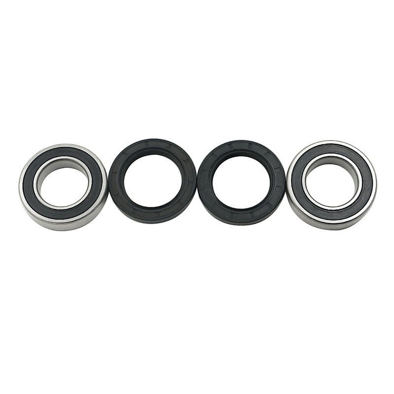 Pack-4 Racing Wheel Bearing and Seal Kit Rear for axle carrier Rear Yamaha Banshee Blaster Raptor 660 Blaster ATV Quad Grizzly