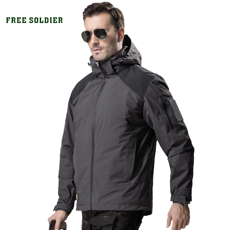 Coat Soft-Shell Free-Soldier Hooded-Cloth Military-Jacket Hunting Tactical Outdoor Windproof