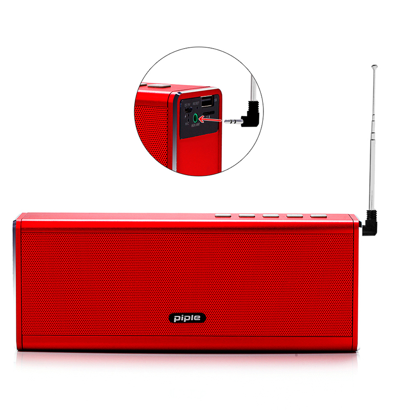 S5 Bluetooth Speaker FM Radio Power Bank 20W Portable Mini Computer Speaker Wireless Loudspeaker 4000mah Power Bank For Phone remax h1 desktop speaker leather straps power bank mini portable speaker rb h1 hifi box and 8800mah power bank 2 in 1 function