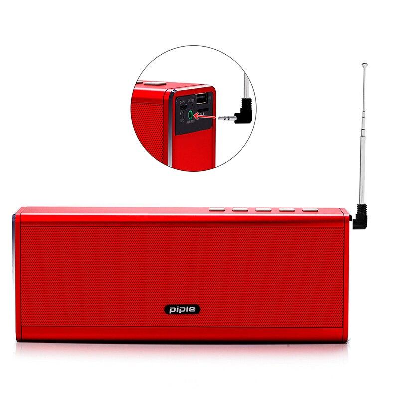 S5 Bluetooth haut-parleur FM Radio batterie externe 20 W Portable Mini ordinateur haut-parleur sans fil haut-parleur 4000 mah batterie externe pour téléphone