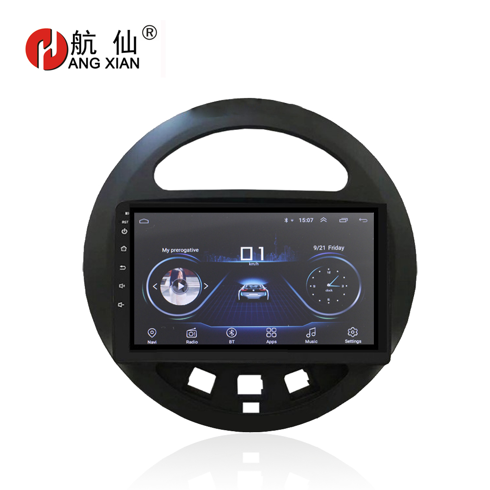 HANG XIAN 9 Android 8.1 multimedia Car radio stereo for Geely Panda car dvd GPS navigation player bluetooth car accessariesHANG XIAN 9 Android 8.1 multimedia Car radio stereo for Geely Panda car dvd GPS navigation player bluetooth car accessaries