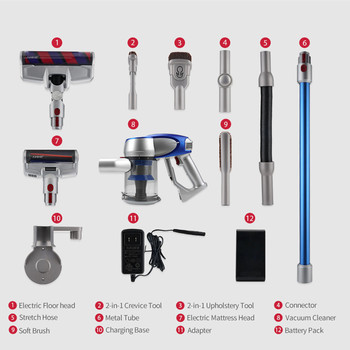2019 Xiaomi JIMMY JV83 Vacuum Cleaner JV83 Digital Motor Wireless Handheld  Cordless Stick Vacuum Cleaner 20000Pa for Car Home