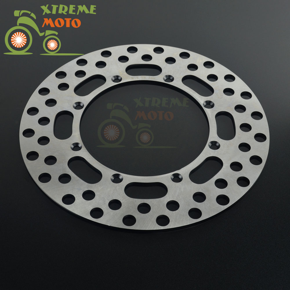 ФОТО 250mm Front Brake Disc Rotor For KAWASAKI KX125 89-02 KDX200 93-94 KLX250R 93-94 KX250 89-02 KLX300 97-07 KX500 89-04