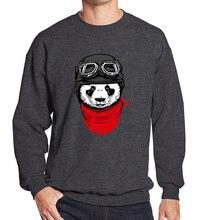 2017 men's sportswear spring winter fashion cool Panda pattern hoodies men tracksuits Crossfit hoodie brand clothing kpop hoody