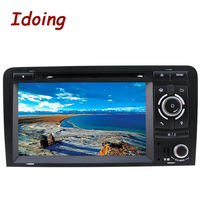 2Din Steering Wheel Car Multimedia DVD Player For Audi A3 Android GPS Navigation Video 3G WIFI