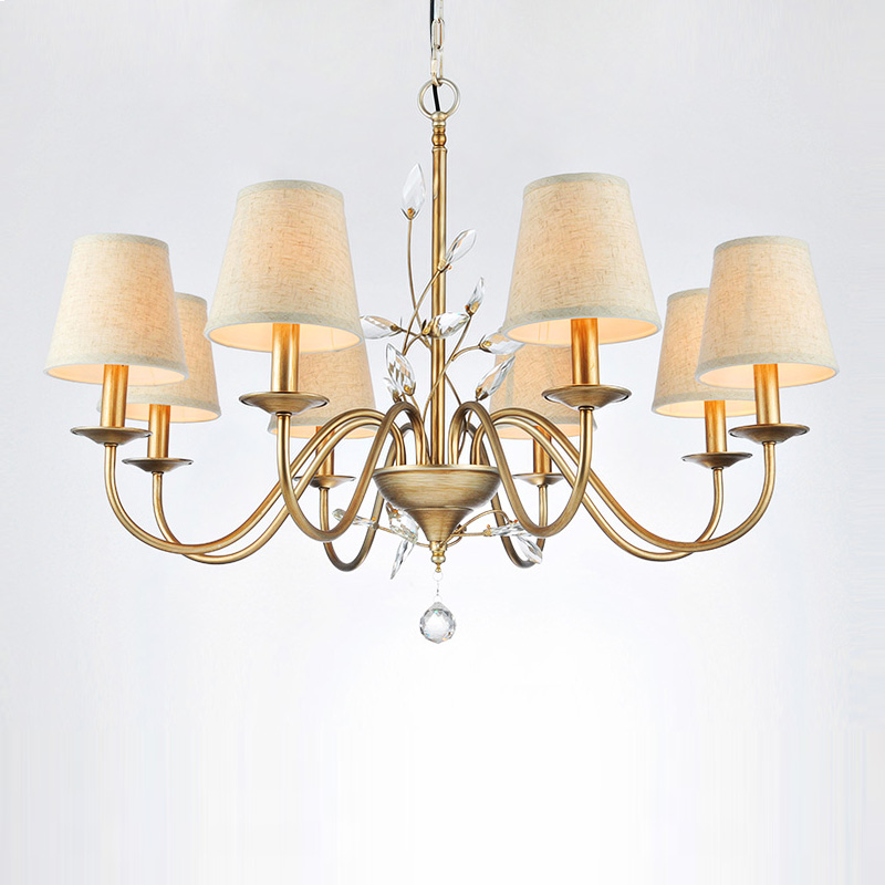 Chic Dining Room Chandeliers: Modern Europe Style Village LED Crystal Chandelier New