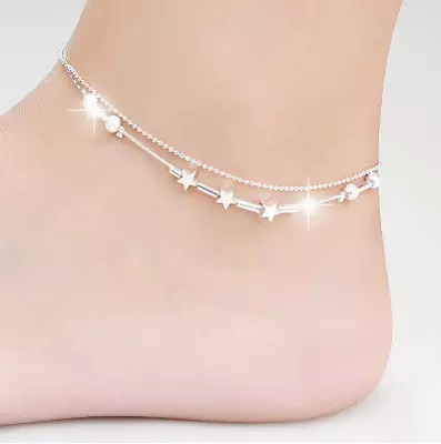 7 styles famous brand Bell Anklet font b Fine b font font b Jewelry b font