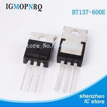 10000PCS/lot BT137 600E BT137 600 TO 220 BT137 Triac BL Bipolar  Production