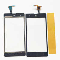 Touch Screen For BQ BQS-5050 BQS 5050 Touchscreen Digitizer Sensor Glass Lens Panel