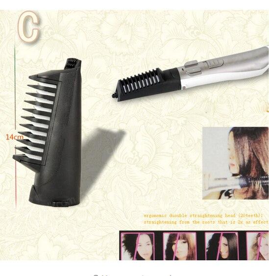 Secador de pelo multifuncional Cepillo giratorio automático cepillo de pelo  iónico secador de pelo estilizador secador de pelo 220 V enchufe de la UE  en ... df2d13da9188