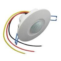 TD TAD-WB9 220 볼트 사운드 제어 인간의 적외선 유도 스위치 웨이브 레이더 센서