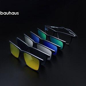 Image 2 - 3174 מגנט משקפי שמש קליפ שיקוף קליפ על מגנטי משקפי שמש קליפ על משקפיים גברים מקוטבות קליפ Custom מרשם קוצר ראיה