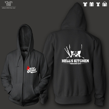 TV netflix Daredevil hell kitchen orignal design men unisex zip up hoodie sweatershirt 82% cotton fleece inside Free Shipping
