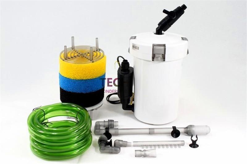 Sunsun Super Quiet 6W 400L H Aquarium Fish Tank External Filter Canister Outer filtration system with