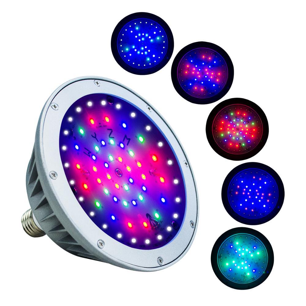 Lumière LED étanche de piscine, couleur blanche imperméable de rvb de 120 V 40 W IP65 pour la piscine, difficulté pour le montage de Pentair et de Hayward