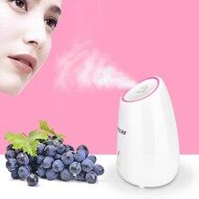 نانو الفاكهة جهاز البخار للوجه الساخن ضباب البخار البخاخ سبا ترطيب الوجه المرطب التطهير العميق العناية بالبشرة الجمال أداة