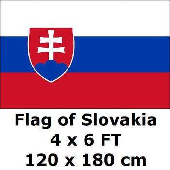 Bandera de Eslovaquia 120x180 cm eslovaco banderas y banderas Bandera Nacional Bandera de País decoración del hogar