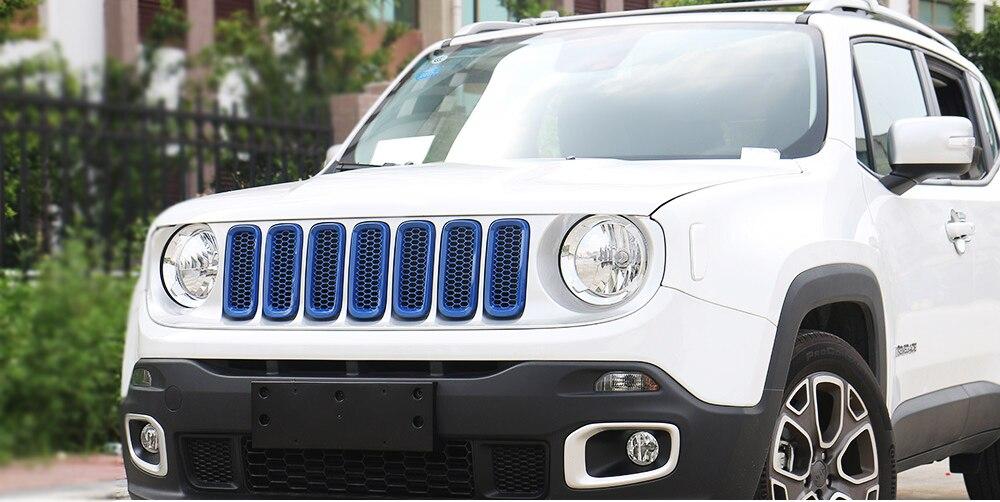 guarnição adesivo apto para jeep renegado 2016-2018 estilo do carro acessórios