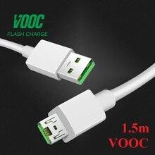 5V4A AK779 VOOC Micro USB кабель для OPPO R15 R11 R11s плюс R15 R17 pro быстро Зарядное устройство кабель R5 R8107 R8109 R7S R7 R7T R7 R9s плюс