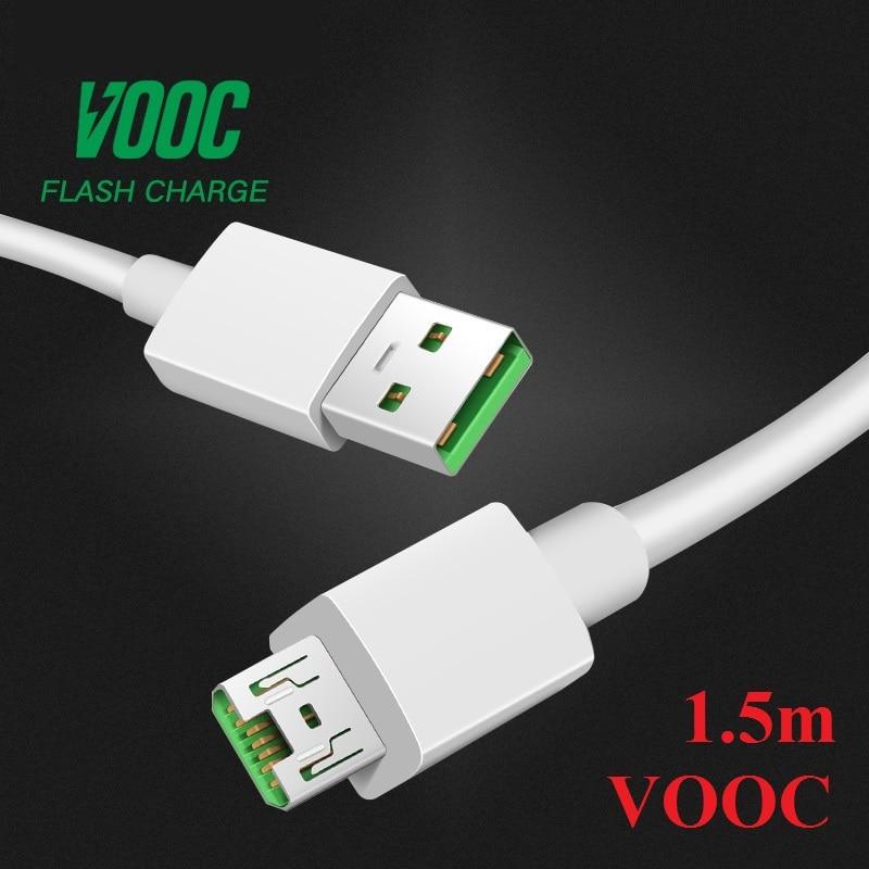 5V4A AK779 VOOC Micro USB Cable For OPPO R15 R11 R11s plus R15 R17 pro Fast Charger Cable R5 R8107 R8109 R7S R7 R7T R7 R9s Plus