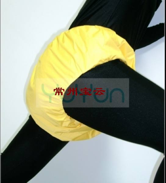Free Shipping FUUBUU2034-YELLOW-XL Adult Diapers/The Old Man Of Diapers/Waterproof Shorts/Incontinence/Waterproof And Breathable