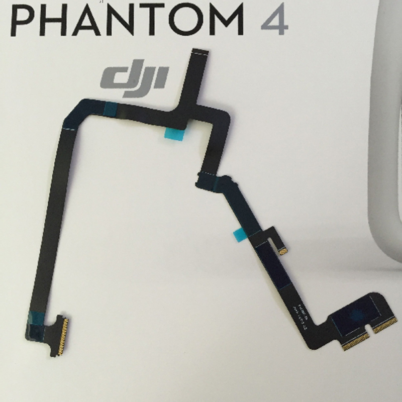 100% Original Brand New Gimbal Connecting Flex Ribbon Cable For RC Drone DJI Phantom 4 Quadcopter jianglun flexible gimbal flat ribbon flex cable for dji 1 zenmuse x3