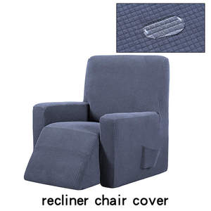 Image 3 - Waterproof Elastic Recliner Chair Cover All inclusive Massage Sofa Couch Cover