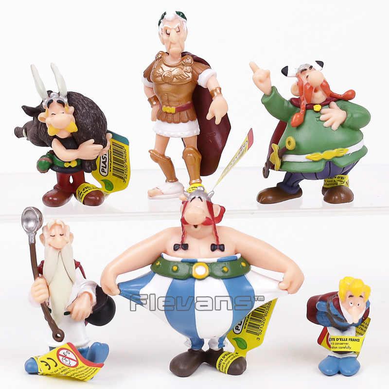 Classico Franca Desenhos Animados As Aventuras De Asterix Pvc