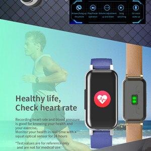 Image 3 - LIGE TWS Binaural fone de Ouvido Bluetooth Inteligente relógio Pedômetro Monitor De Freqüência Cardíaca Relógio Do Esporte Das Mulheres Dos Homens de Fitness Para Android ios + caixa