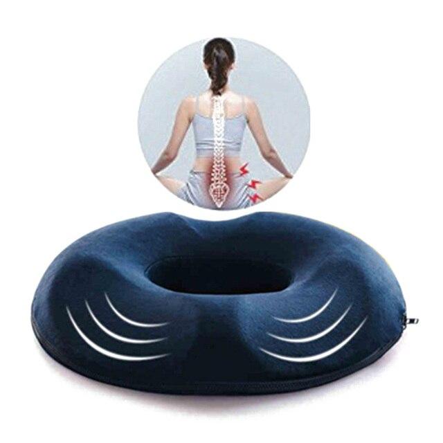 אורטופדי זיכרון קצף כרית מושב עוזר עם סכיאטיקה כאבי גב שלך משרד כיסא 45*41*7