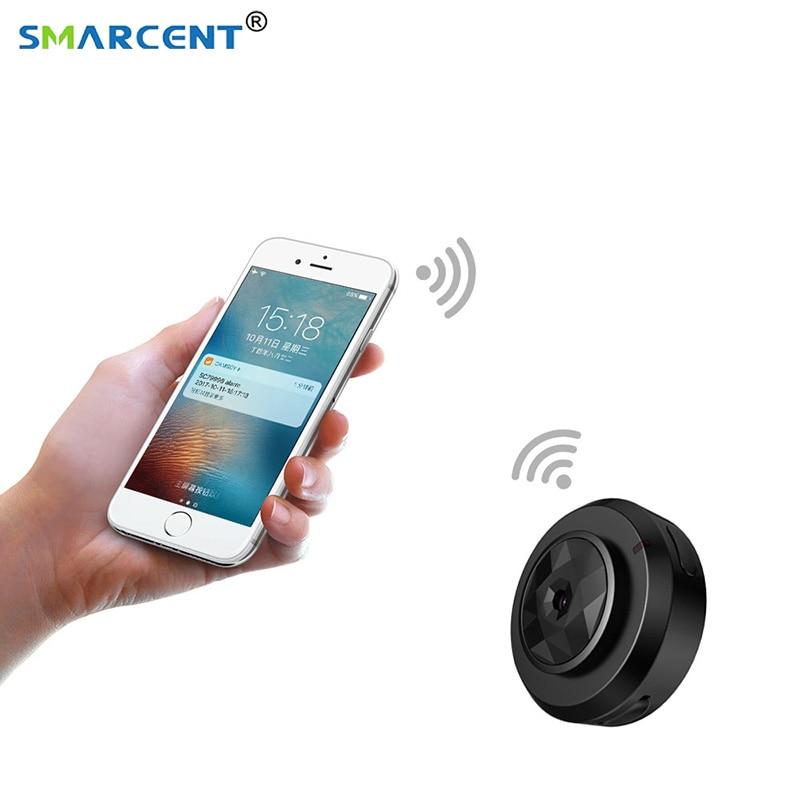 C6 Mini cámara Cookycam Micro WIFI HD 720 p más pequeño con Smartphone App visión nocturna IP seguridad casera videocámara de la leva