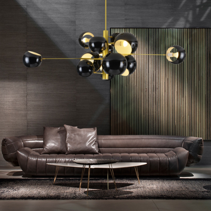 Modern Nordic pendant lights dining room AC90-260V hanglamp globe shade hanging light black white lustres para quarto kitchen C6 fitzgerald the love of the last tycoon