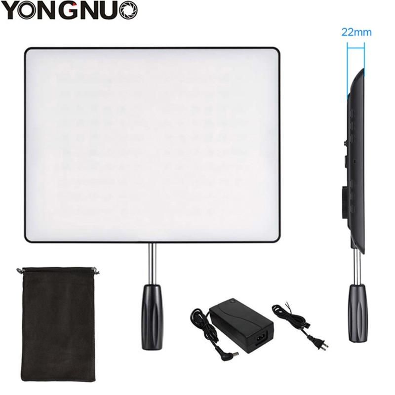 YONGNUO YN600 Air Ultra Thin LED Camera Video Light 3200K 5500K and 5500K AC Power Adapter