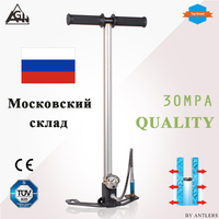 High Pressure Pcp hand pump 3-Stage 4500PSI 30MPA air hand pump for airgun air rifle paintball tank filling within oil filter