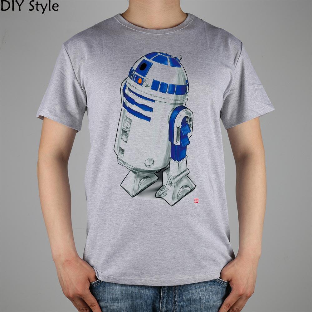 STAR WARS R2D2 Tricou Top Tricou de bluze din bumbac - Imbracaminte barbati