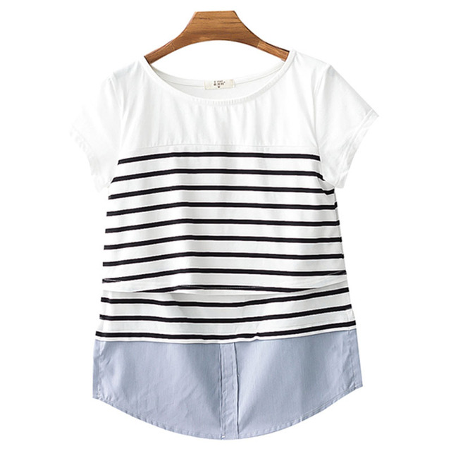 Nursing Tops Breastfeeding Maternity Clothes Breast Feeding Top Pregnancy Shirt For Pregnant Women Clothing Mother Wear Summer