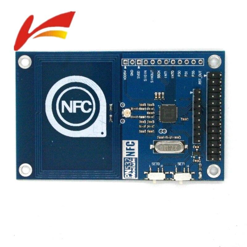 PN532 NFC precisa RFID lector de tarjetas IC módulo escudo V3 13,56 MHz SPI CII I2C UART 3,3 V NFC para Arduino UNO R3 Raspberry PI