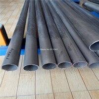 Gr2 titanium tube OD45mm x 1.5mm wall thickness, Length 500mm,4pcs