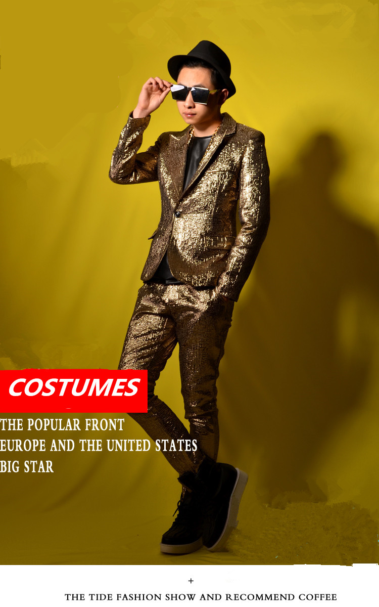 Beautiful Gold Suits For Prom Model - Wedding Dress Ideas - itemver.info