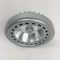 Private Die Casting Aluminum Heatsink + Special Al Reflector GU10 AR111 Spot lamp 15W Dimmable No Glare