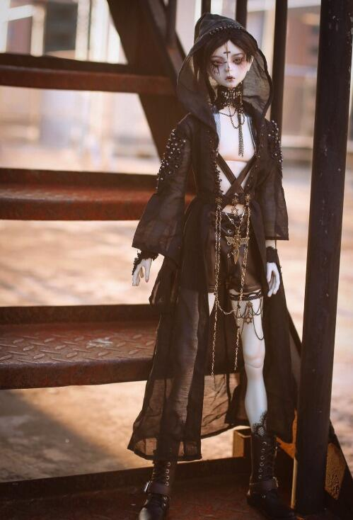Accept custom European style Black wizard Suit BJD Uncle 1/3 1/4 MSD SD SSDF ID Doll Clothes vaude wizard 30 4 page 4