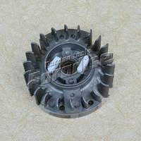 5800 Chainsaw Flywheel With Plastic Pawl For Chain Saw Spare Parts Use Free Shipping