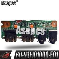 Asepcs NWE Asus K53 K53S K53SD K53SV K53SJ USB 오디오 보드 69N0KBB10F01-01 60-N3EIO1000-F01 100% 테스트 된 고속 선박