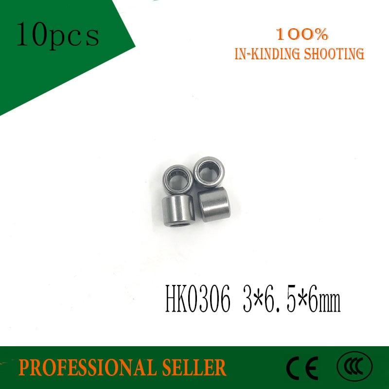 HK0306 3*6.5*6MM Needle Roller Bearing 3mmx6.5mmx6mm 3x6.5x6 mm HK0306TN for 3mm shaft hk0306 needle roller bearing 3mmx6 5mmx6mm 3x6 5x6 mm hk0306tn for 3mm shaft
