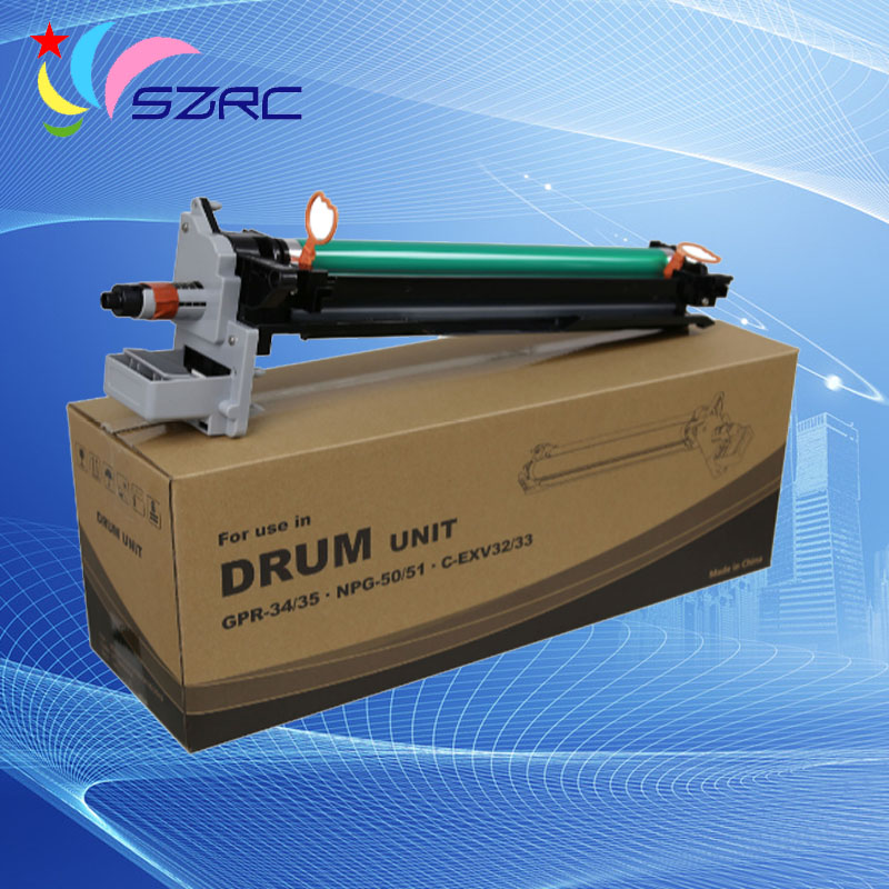 High quality GPR-34/35 NPG-50/51 C-EXV32/33 drum unit compatible for canon IR2520i IR2525i IR2535i IR2545i high quality gpr 18 npg 28 drum unit compatible for canon ir2016 ir2018 ir2020 ir2022 ir2025 ir2030 ir2318l 2016j ir2320 ir2420
